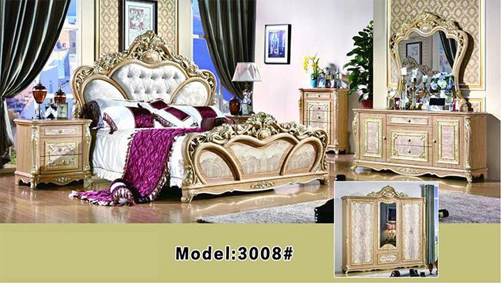 Bộ giường tủ bàn phấn Hofaco HFC-BGN3008 (Ảnh 1)